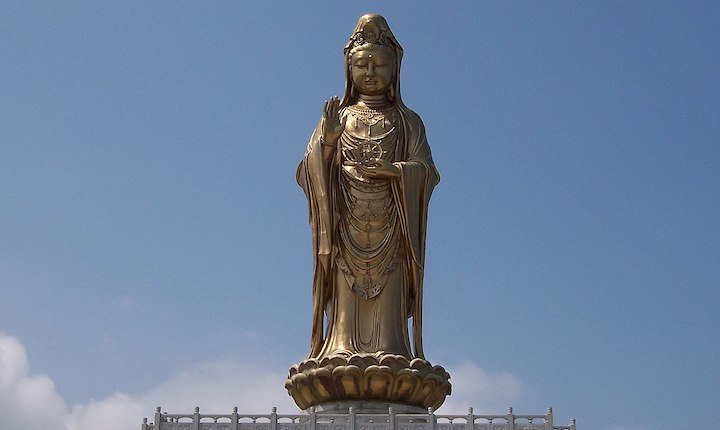 Monumental statue of Guanyin, Mount Putuo