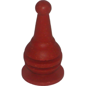 Bowling Pin, Large, Red