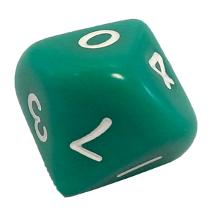 Ad for D10, Green