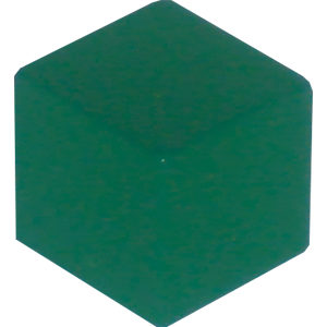 Ad for Cube, 10mm, Green