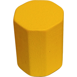 Octbox, 14mm, Yellow