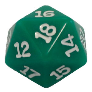 Ad for D20, Green