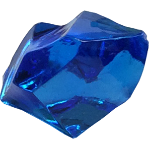 Crystal, Transparent, Blue