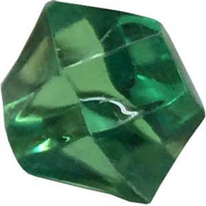 Crystal, Transparent, Green