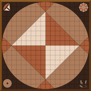 Quad-Fold Game Board