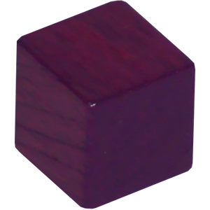 Ad for Cube, 8mm, Purple