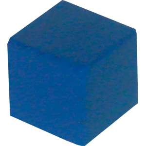Ad for Cube, 10mm, Blue