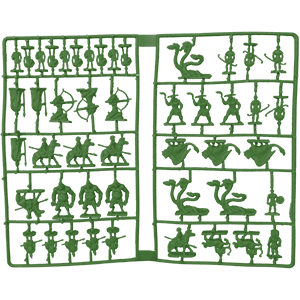 Sprue, Greek Myth, Green