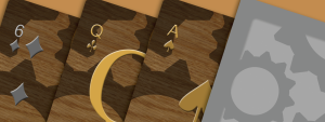 Steampunk Poker Deck logo