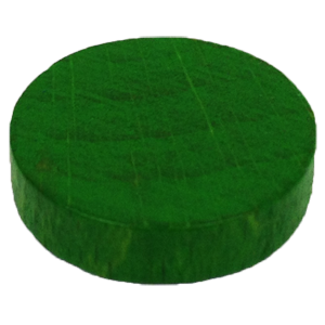 Disc, 16mm x 4mm, Green