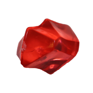 Crystal, Transparent, Red