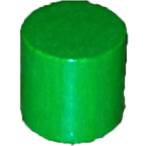 Cylinder, 10mm, Green