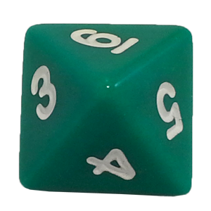 Ad for D8, Green