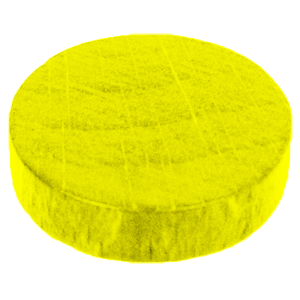 Disc, 16mm x 4mm, Yellow