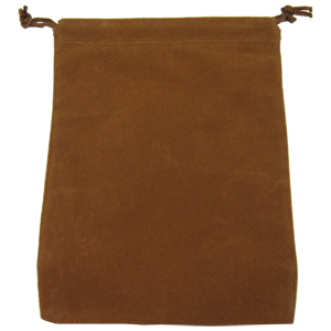 Ad for Parts Bag, Small, Brown