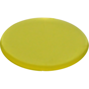 Wink, 22mm, Translucent, Yellow