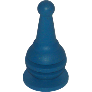 Bowling Pin, Large, Blue