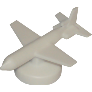 Airplane, Small, White