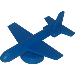 Ad for Airplane, Large, Blue
