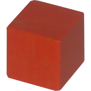 Ad for Cube, 8mm, Orange