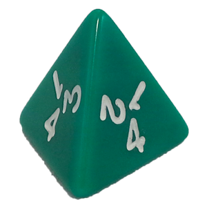 Ad for D4, Green