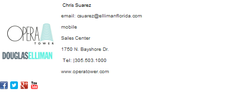 Sales Email Signature Template