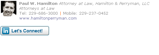 Attorney Email Signature Template