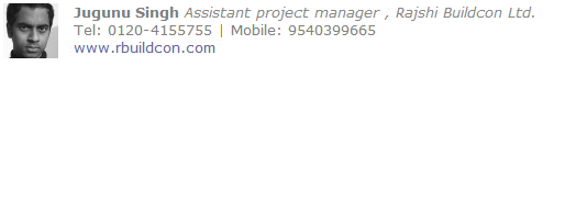 Assistant project manager Email Signature Template