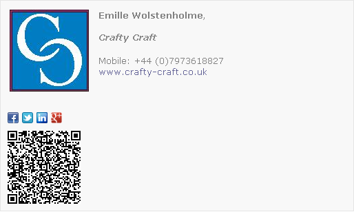 Crafts Email Signature Template