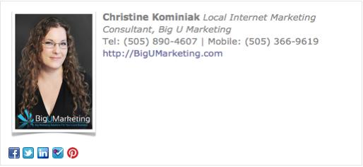 Consultant Email Signature Template