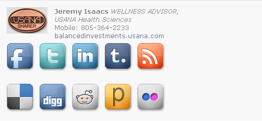 Wellness Advisor Email Signature Template