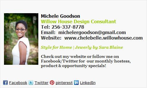 House Design Consultant Email Signature Template