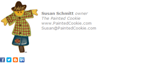 Bakery Owner Email Signature Template