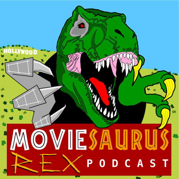 Logo of Moviesaurus Rex Podcast