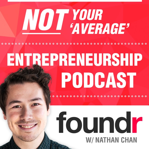 Logo of Foundr Magazine Podcast with Nathan Chan