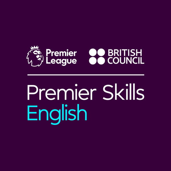 Logo of Learn English with the British Council and Premier League