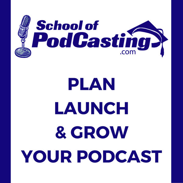 Logo of School of Podcasting