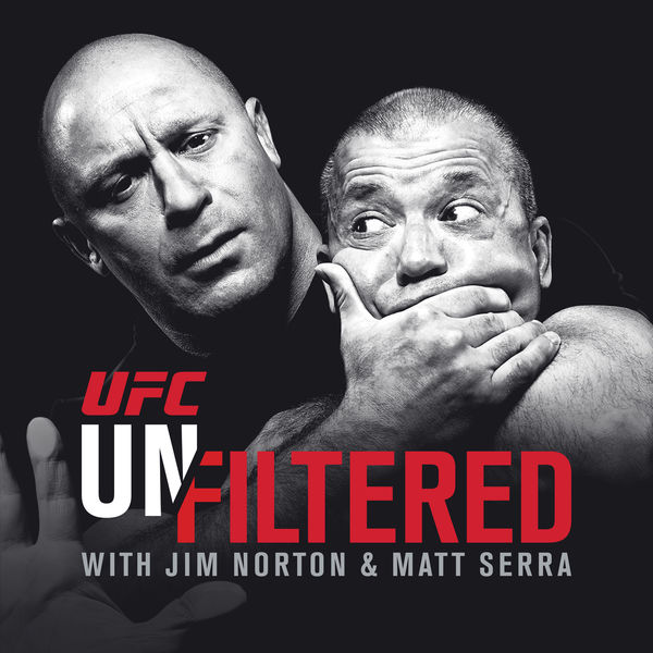 Logo of UFC Unfiltered with Jim Norton and Matt Serra