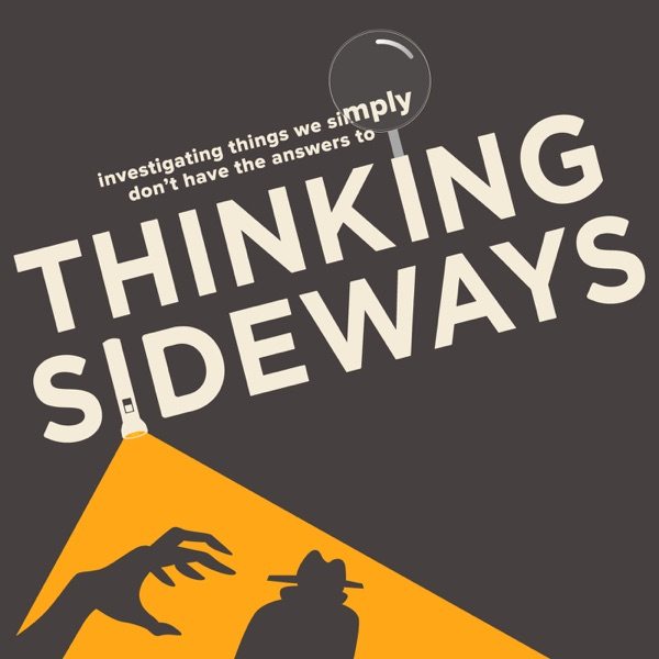 Logo of Thinking Sideways Podcast