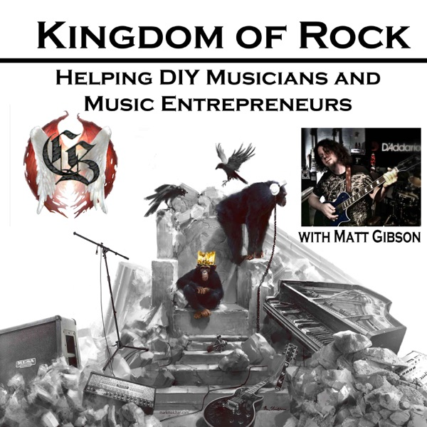 Logo of Kingdom of Rock - Helping DIY Musicians and Music Entrepreneurs with Business