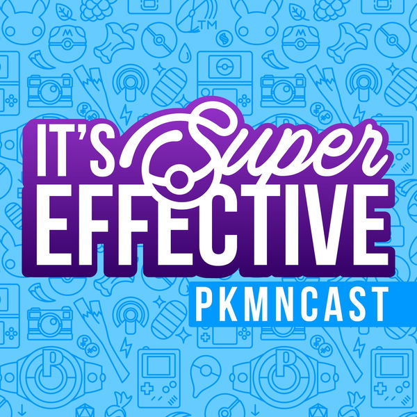 Logo of It's Super Effective | A Weekly Pokemon Podcast