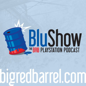Logo of Playstation Podcast – Big Red Barrel