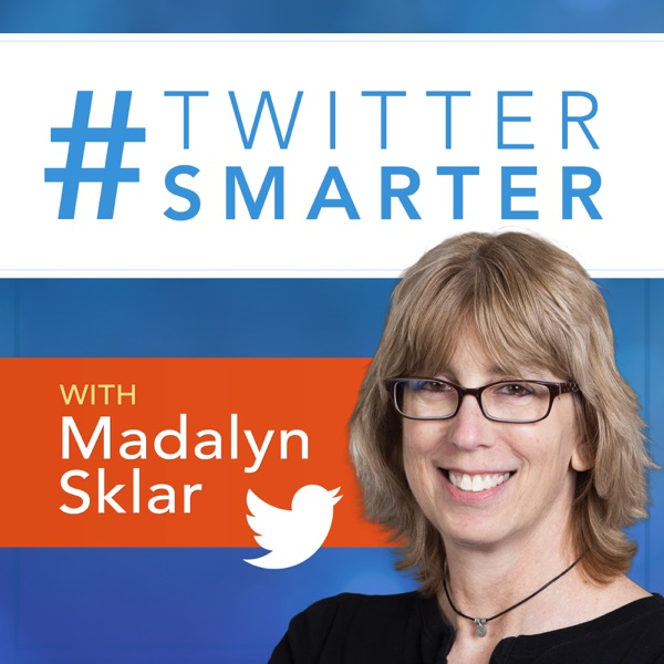 Logo of Twitter Smarter Podcast with Madalyn Sklar - The Best Twitter Tips from the Pros