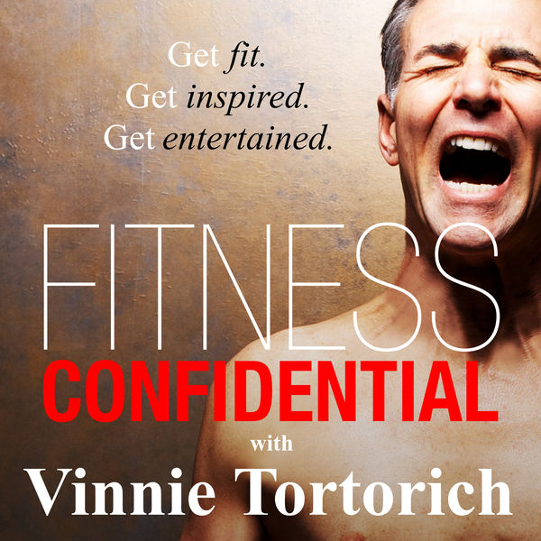 Logo of Fitness Confidential with Vinnie Tortorich