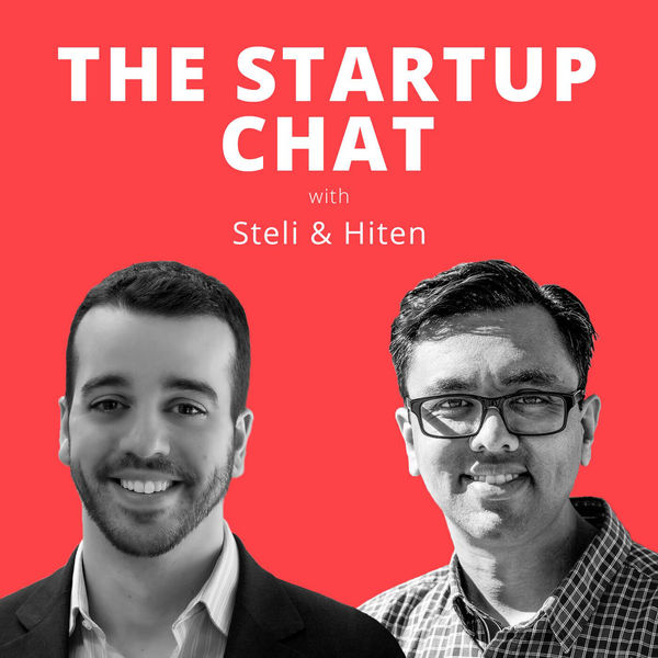 Logo of The Startup Chat with Steli and Hiten