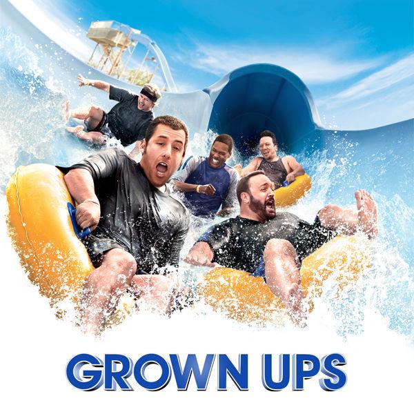 Logo of Grown Ups Movie