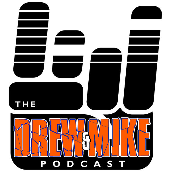 Logo of Drew and Mike Podcast