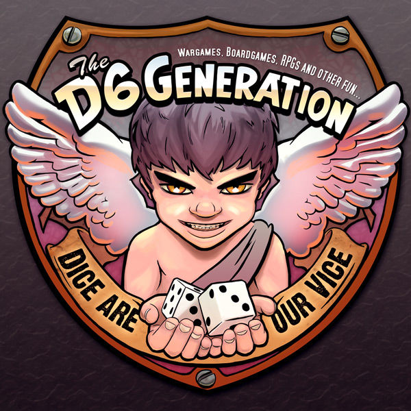 Logo of The D6 Generation - Dice Are Our Vice