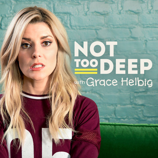 Logo of Not Too Deep with Grace Helbig
