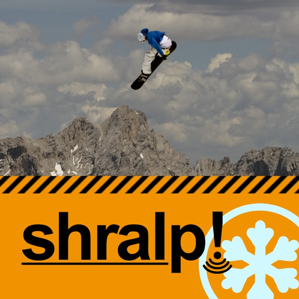 Logo of shralp! snowboarding video news